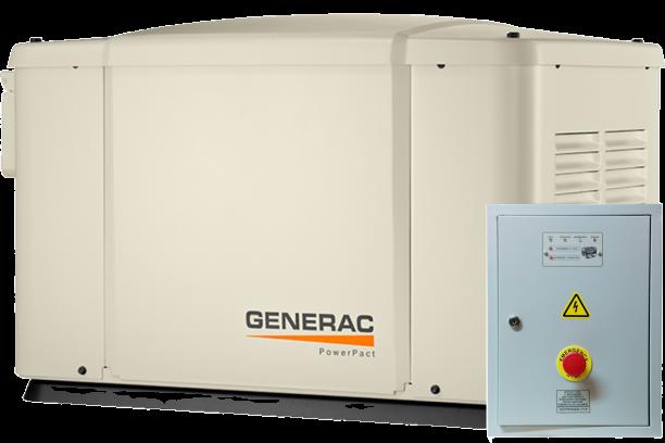Внешний вид GENERAC 6520 с автозапуском