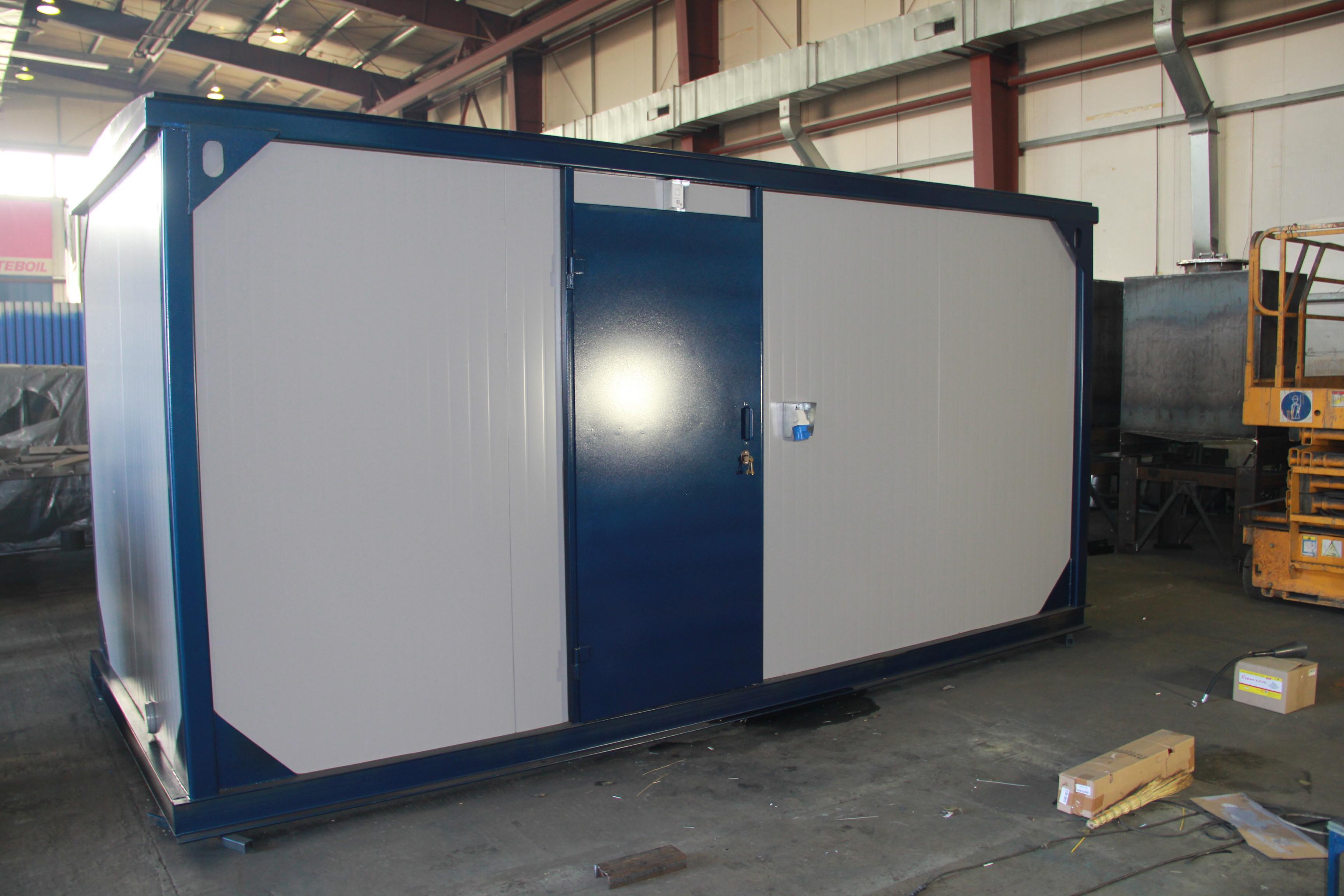 Внешний вид IVECO АД-400С-Т400-2РНИ с АВР в контейнере