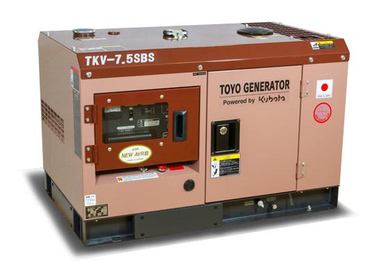 Внешний вид TOYO TKV-7.5 SBS в шумозащитном кожухе