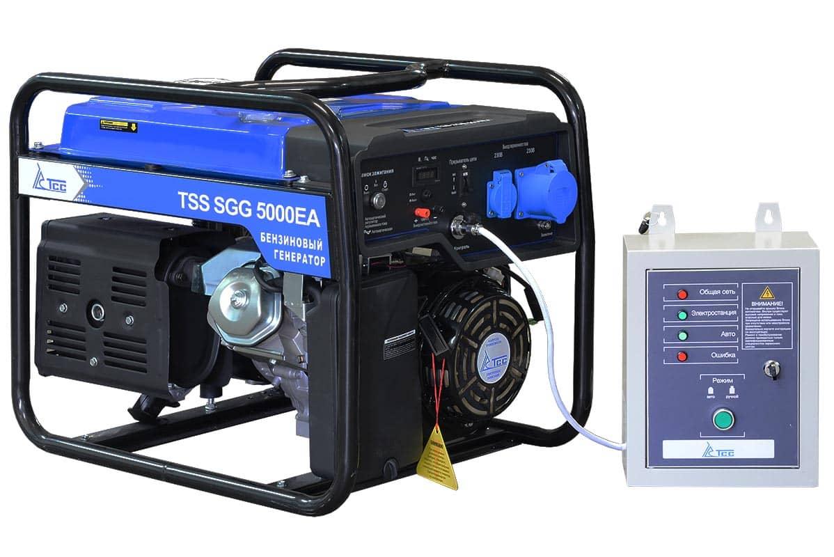 Внешний вид TSS SGG 5000 EA с автозапуском АВР