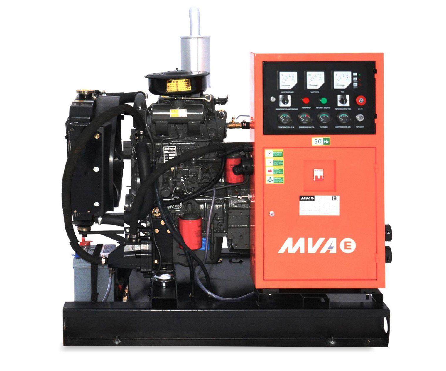 Внешний вид MVAE АД-10-230-АР на раме с АВР