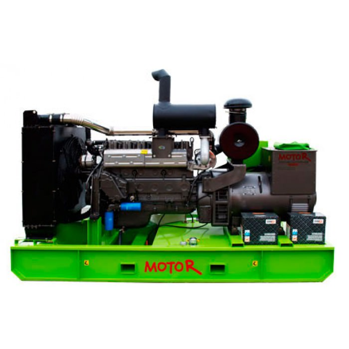 Дизельная электростанция MOTOR АД-300-Т400 открытая на раме
