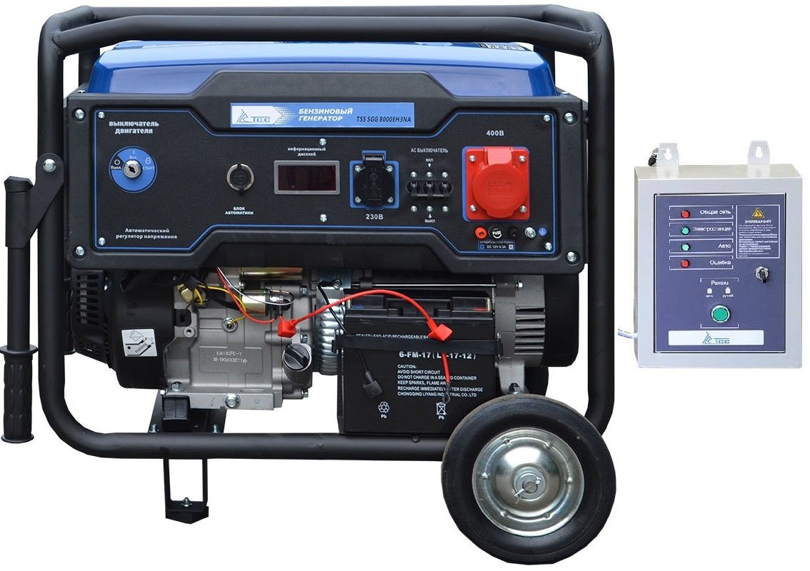 Бензогенератор TSS SGG 8000 EH3NA с автозапуском АВР