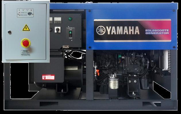 Внешний вид YAMAHA EDL 26000 TE с АВР