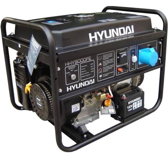Бензогенератор Hyundai HHY 9010 FE