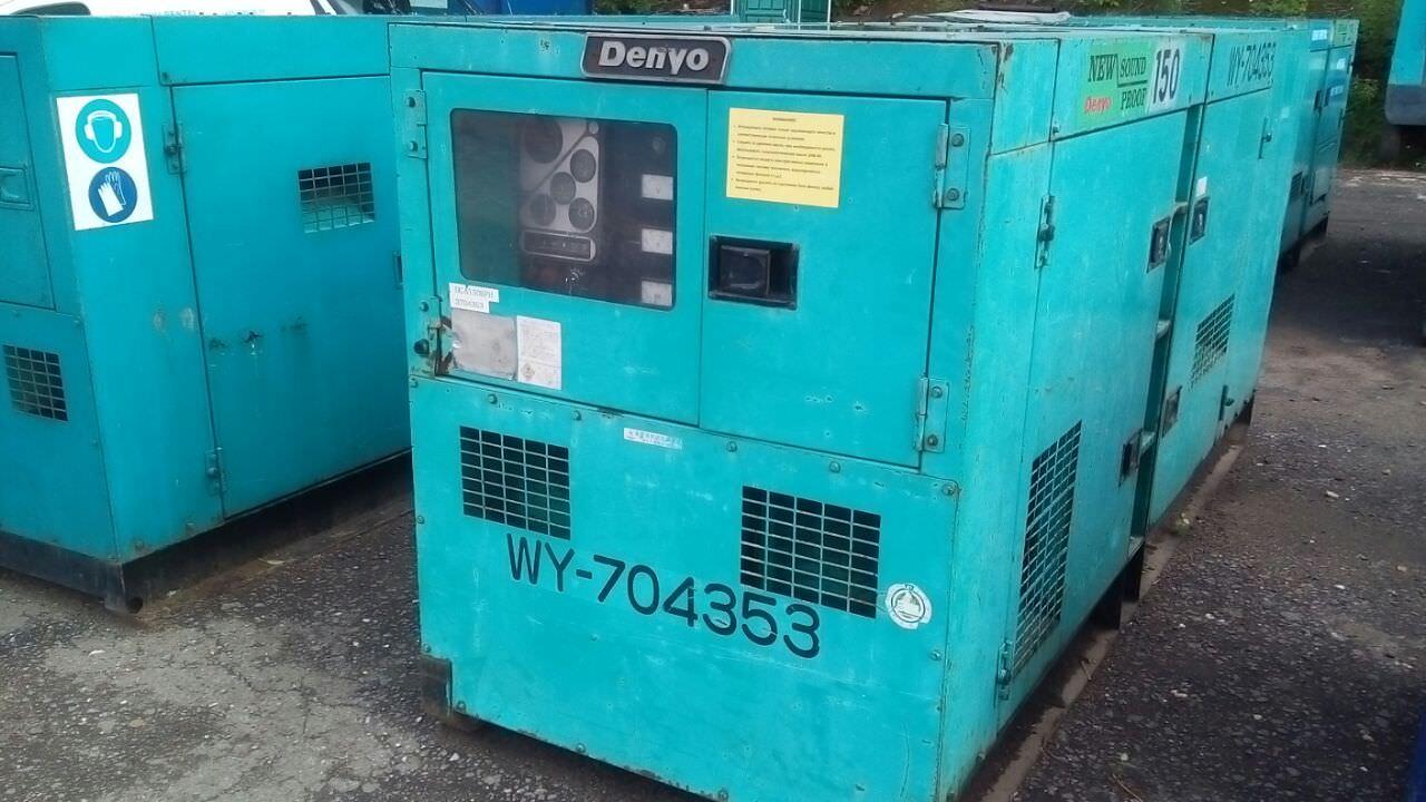 Внешний вид Denyo DCA 150 бу c наработкой - 3