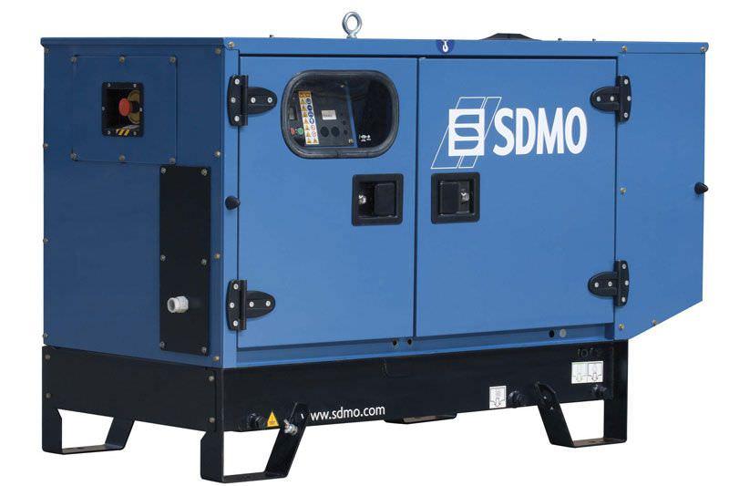 SDMO PACIFIC T8HKM в кожухе (1 фаза, 3000 об.)