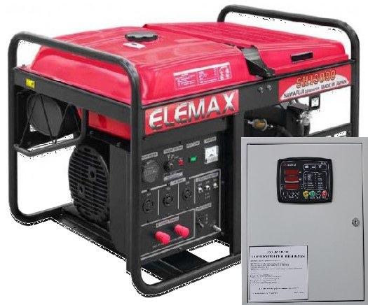 Бензогенератор Elemax SHT 15000-R с автозапуском