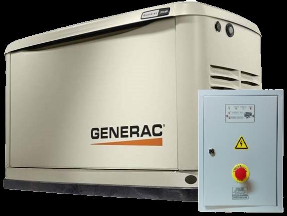 Внешний вид GENERAC 7046 с автозапуском