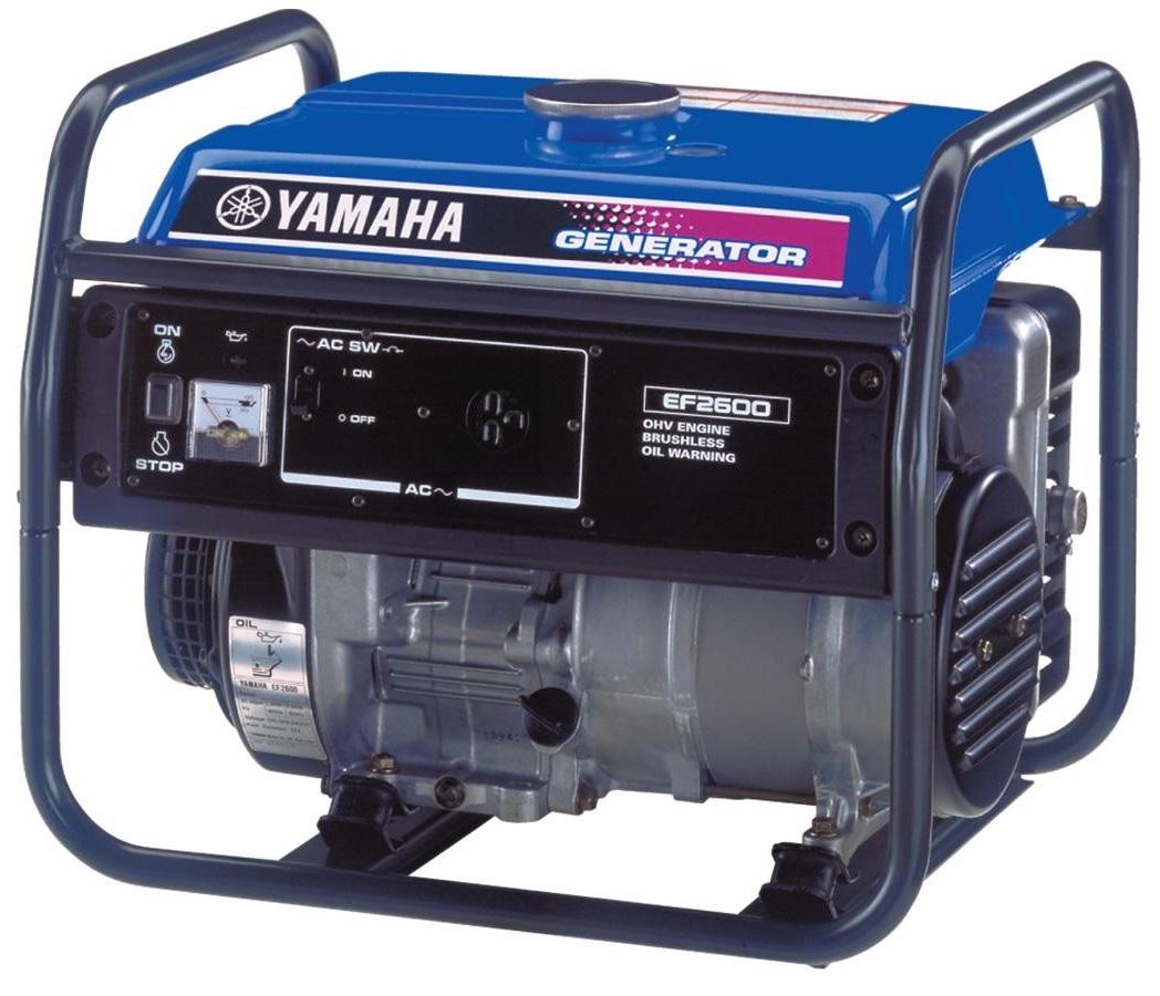 Внешний вид YAMAHA EF 2600 FW