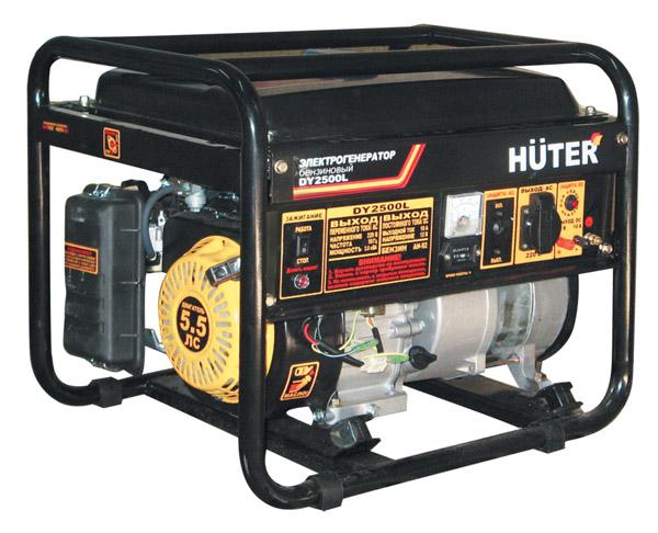 Бензогенератор Huter DY 2500 L