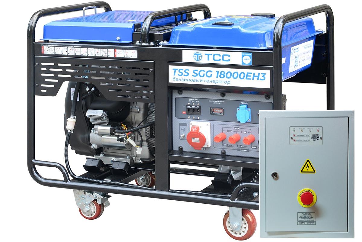 Внешний вид TSS SGG 18000EH3 с автозапуском