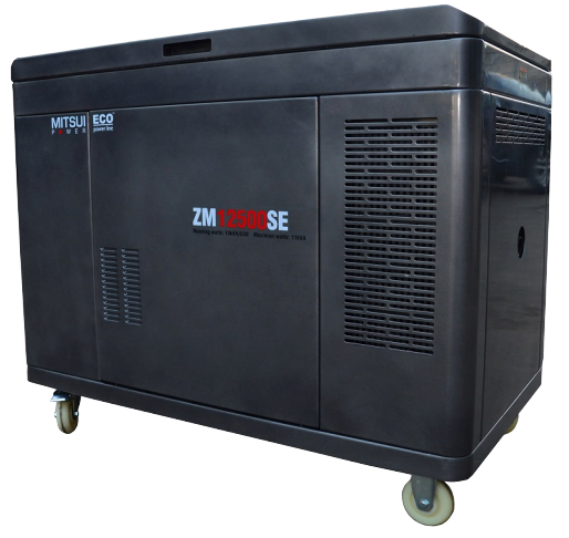 Внешний вид MITSUI ECO ZM 12500 SE в кожухе