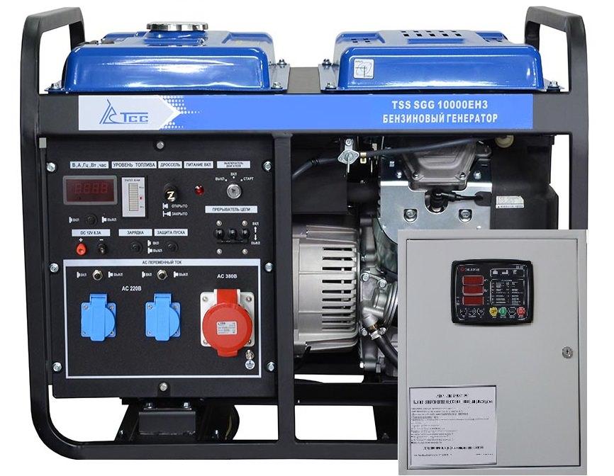 Бензогенератор TSS SGG 10000EH-3 с автозапуском (АВР)
