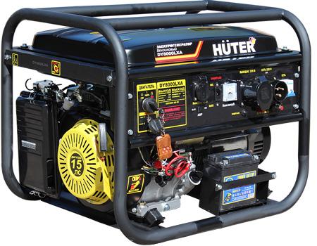 Бензогенератор Huter DY 8000 LXA