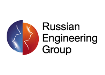 Логотип Russian Engineering Group
